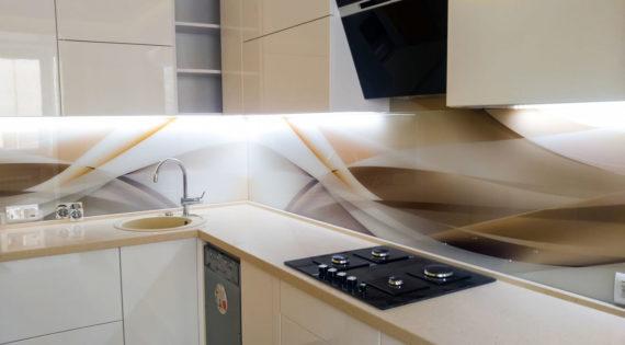 Скинали абстракции для кухни