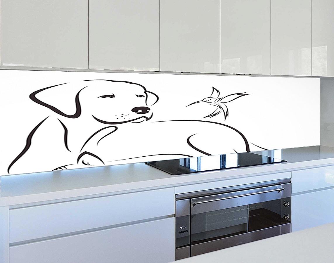 Белые скинали для вашей кухни